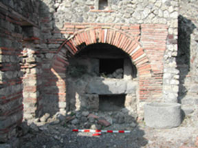 Oven in Commercial Bakery, Pompeii