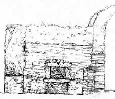 Sketch of Pompeii Oven